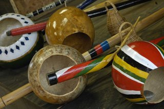 Art of the Berimbau - Musical Instrument by Artisan Kasey Sanders (Baiano)